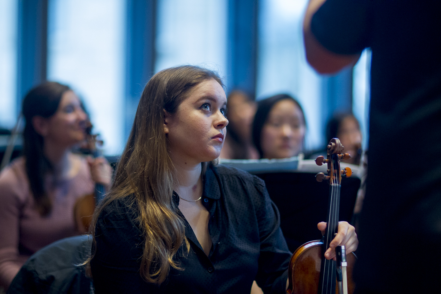 Student in Yale Philharmonia
