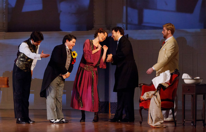 Opera Scenes, Il Barbiere di Siviglia, October 2011, Yale Opera, Yale School of Music