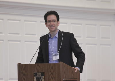 Sebastian Ruth speaking at 2015 Symposium