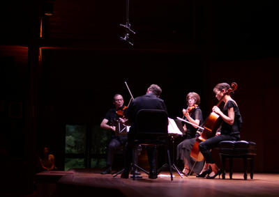 Brentano String Quartet at the Music Shed