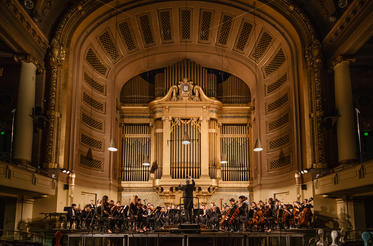 Yale Philharmonia in Woolsey Hall