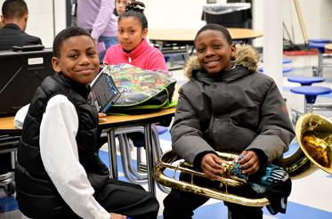 Music in Schools students